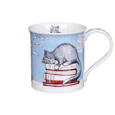 NEW Dunoon Bute Contented Cats Fine Bone China Mug in Gift Box 3 Options