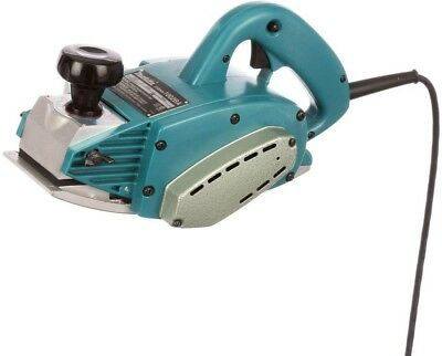 Makita 4-3/8 in. Curved Base Planer 9.6 Amp Corded (2) Blades Lock-on Button