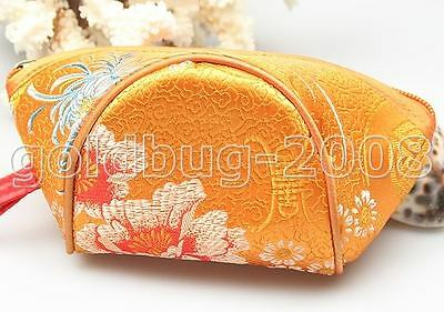 Wholesale Lot Of 4  Chic And Vouge New Ladies Handmade Silk Chinese Handbags
