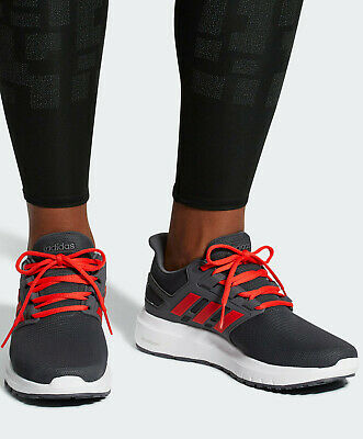 half off 1be11 431d5 Adidas Chaussures sportif Trainers Shoes Running energy cloud 2 gris rouge