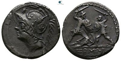 Savoca Coins Rome Mars Warrior Bent Silver 3,80g/19mm $KBA12565