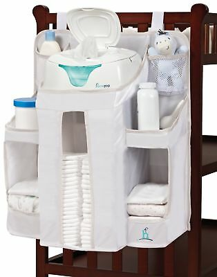hiccapop Nursery Organizer and Baby Diaper Caddy | Hanging Diaper Organizatio...