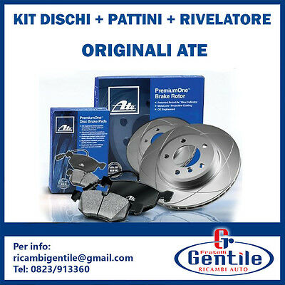 SET ATE DISCS SHOES HOME USE DETECTOR FRONT BMW 5 TOURING E61 520 d 120KW 163CV