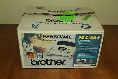 NEW Brother FAX-565 Fax Machine