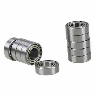 10x 688zz Miniature Machinery Ball Bearing Stainless Steel Metal Double Shielded
