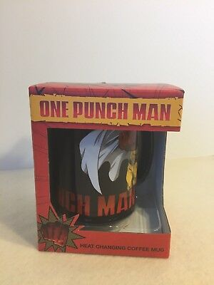 One Punch Man heat changing 16 oz. coffee mug official / merchandise NEW