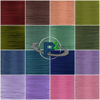 Diamond Pattern Type III 550 Paracord - Vibrant Color Selection - 10 - 100 Feet