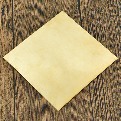 1pc H62 Brass Metal Thin Sheet Handicraft Metalworking Craft DIY 10cm*10cm*0.5mm