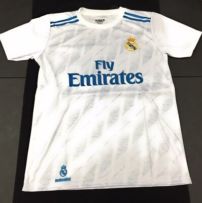 competitive price ec426 33631 REAL MADRID ADULT Soccer Jersey T-Shirt Cristiano Ronaldo #7 CR7 Fan