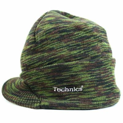 Technics Peaked Beanie Camouflage - Official Merchandise