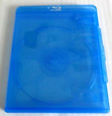 Vortex Single Disc Blu-Ray Cases Eco-Lite 11Mm With Logo New!