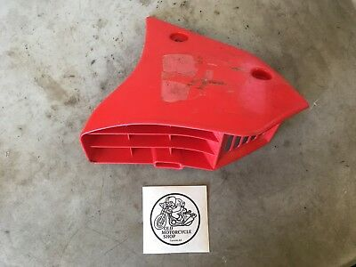 1986 1987 Yamaha Tt 225 S Right Radiator Cover