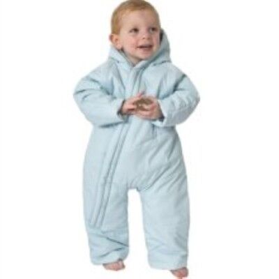 05e882d62 TRESPASS BABY GIRLS boys snow suit all in one ski suit coat 6-9-12 ...