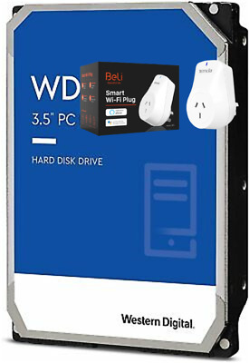 "WESTERN DIGITAL 1TB BLUE 3.5"" SATA Internal Desktop Hard Drive HDD 7200RPM"