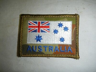 Extremely Rare RAN White Ensign on Auscam Australia Patch
