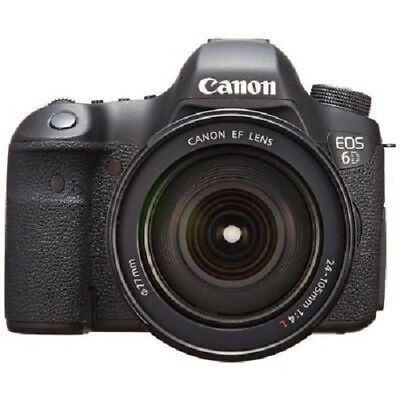 USED Canon EOS 6D with EF 24-105mm f/4L IS USM Excellent FREE SHIPPING