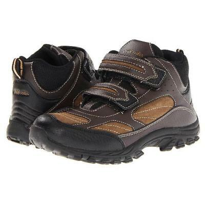 STRIDE RITE Rugged Ritchie Boys 10.5 Wide (Little Kid) Brown Leather Boots, $69