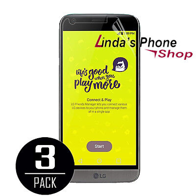 3X Ultra HD Screen Protector Protective Film For LG G5 Free Shipping