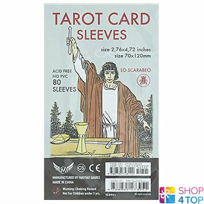 Tarot Card Sleeves Protective Esoteric Fortune Telling Lo Scarabeo New