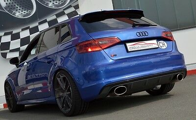 NIL 2 99IN DUPLEX Performance Exhaust Conditioning Audi A3 8V