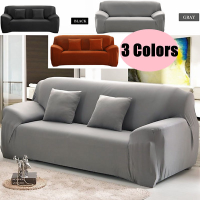 1/2/3 Seater Sofa Covers Couch Slipcover Soft Stretch Elastic Settee Protector