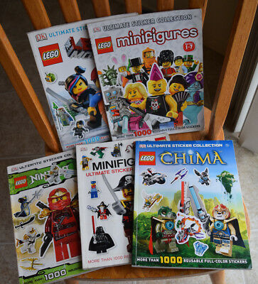 LOT 29 Lego Books Ninjago Lego City Knights' Kingdom Legends Chimera ...