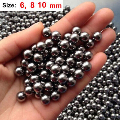 "50pcs 3/8"" (10mm) Catapult Slingshot Ammo Grade Steel Ball Bearings"