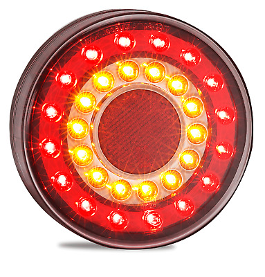 Pair Led Combination Lights Truck Trailer Ute Float 1Xce