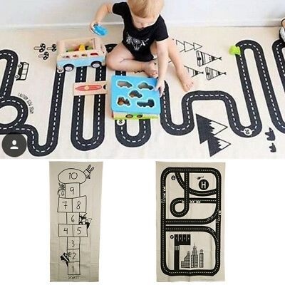 Baby Kids Game Gym Activity Play Mat Crawling Blanket Floor Number Game Mat Gift