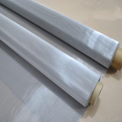 300x900mm 125 Micron Mesh Stainless Steel Woven Wire Cloth Screen Filter Sheet