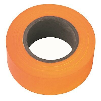 Irwin FLAGGING TAPE 45mx30mm High Visibility, Weatherproof FLOURESCENT ORANGE