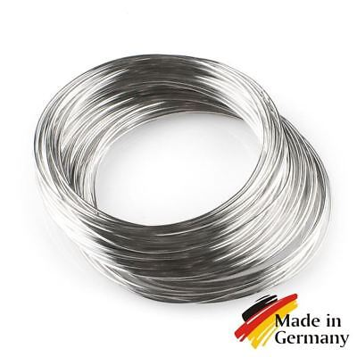 Stainless steel wire 0.16-3mm gauge build vape solid aisi 304 coils 1-100 meter