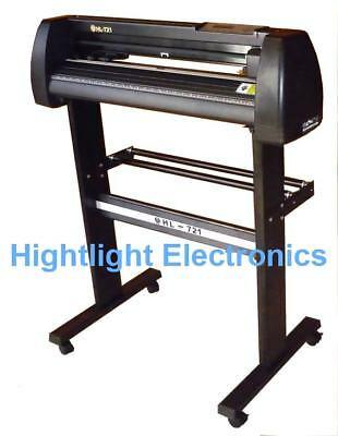 HIGHLIGHT HL-721 VINYL CUTTING PLOTTER CUTTER 4MB Free Extra Blades