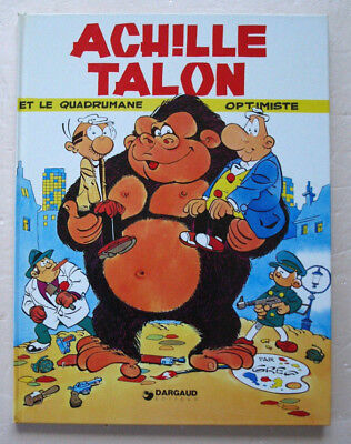 Achille Talon Et le Quadrumane Optimiste GREG éd Dargaud rééd 1978