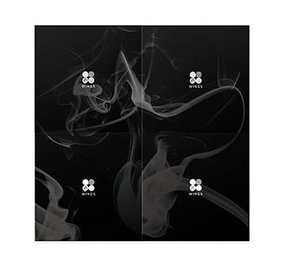 Bts- Wings 2nd Album Random Ver. CD 96p Photo Book 1p Card