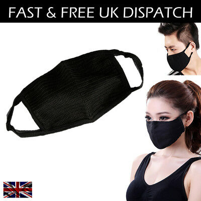 High Quality Solid Cotton Cycling Health Anti Pollution Dust Face Mouth Mask