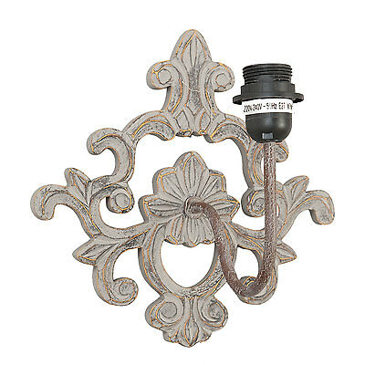 Industrie Laiton Chic Lampe Murale Applique Shabby Rustique Styliste I2eWHYED9