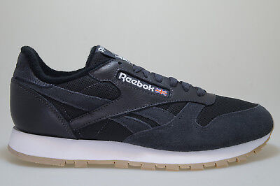 REEBOK CLASSIC LEATHER Estl Unisex White Leather   Mesh Trainers - 5 ... c470a9bd0