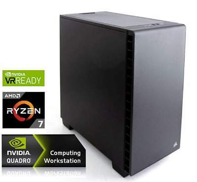 PC WORKSTATION LEVEL2 AMD RYZEN7 1920X 3.50GHz/LIQUID(12core)+32GB+(5.0TB)M.2 1.