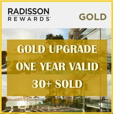 Club Carlson/Radisson Gold Status (Valid till 28 February 2020)