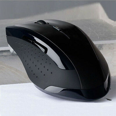 6D 1600DPI USB Wireless Optical Gaming Mouse Mice 2.4GHz Fit Laptop Desktop PC