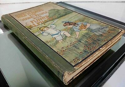 VTG Story of the Wild Flowers for Young People with Flower Alphabet (1914, HB)