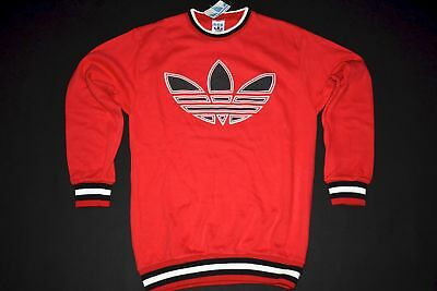 Adidas Pullover Pulli Sweater Sweat-Shirt Vintage Deadstock 80er D 164 NEU NEW