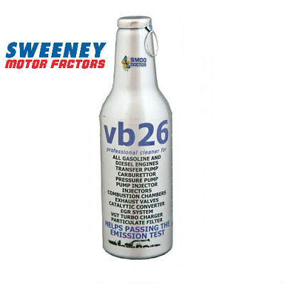 Smog Doctor VB26 Emissions Reducer and System Cleaner For MOT or NCT Smoke 300ml