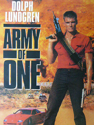 Dolph Lundgren ARMY OF ONE movie poster