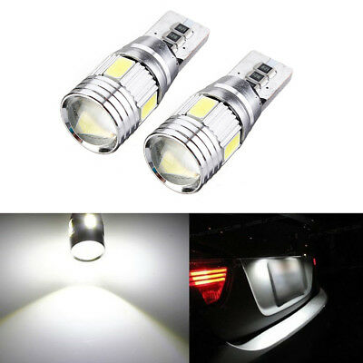 2x T10 501 194 W5W 5630 LED SMD Car HID Canbus Error Free Wedge Light Bulb Lamps