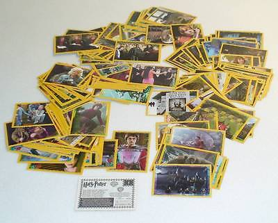 Lot 176 Figurine Sticker Panini Harry Potter Calice Fuoco Goblet Fire Coupe Feu