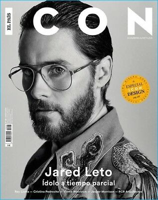 Jared Leto Icon Spain June 2016 Cover Editorial Blade Runner 2049