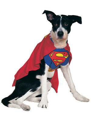 Superman Red Blue And Yellow Pet Dog Costumes