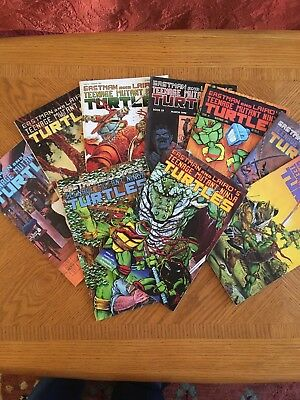 Eastman and Laird's TMNT Comic Lot: 12, 23, 33, 41, 42, 45, 46
